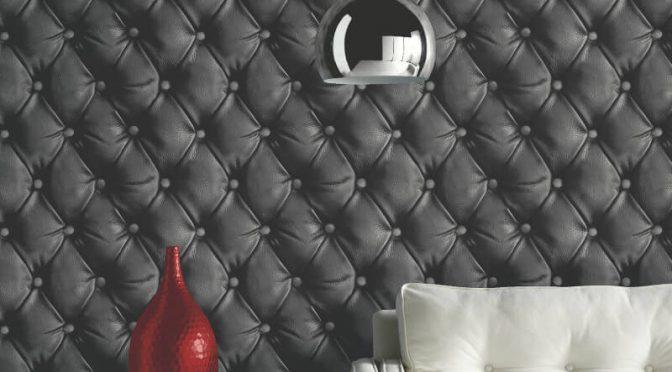 Arthouse Desire Geometric Black Wallpaper