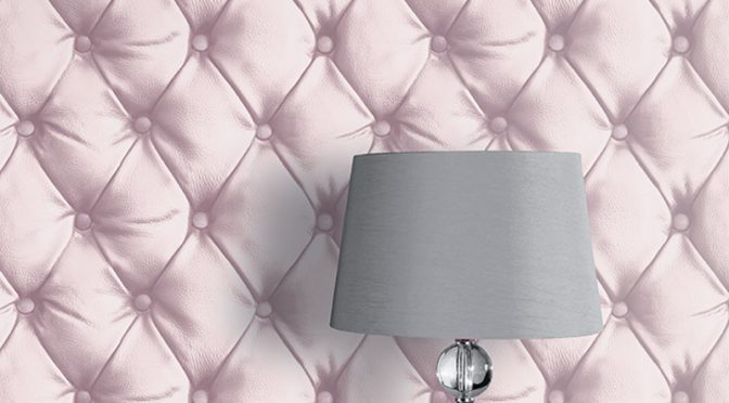 Arthouse Desire Geometric Blush Wallpaper