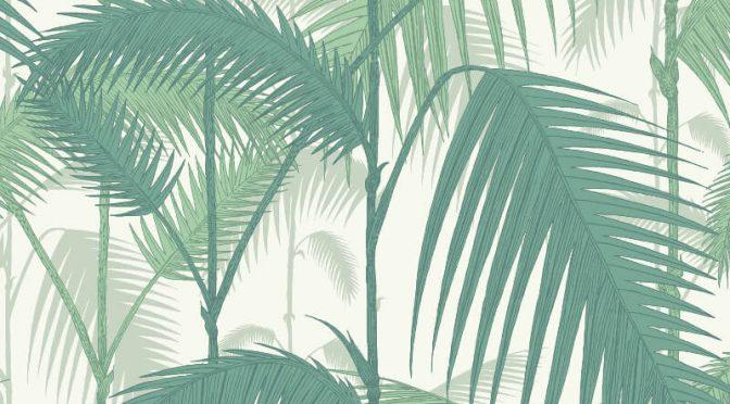 Palm Jungle Emerald Green Wallpaper – Cole & Son