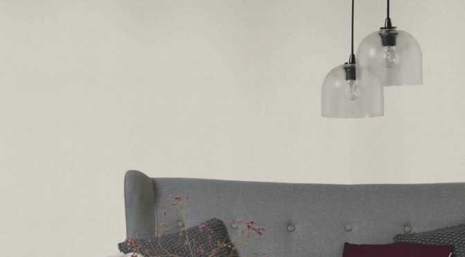 Erismann Shimmer Plain Cream Glitter Wallpaper