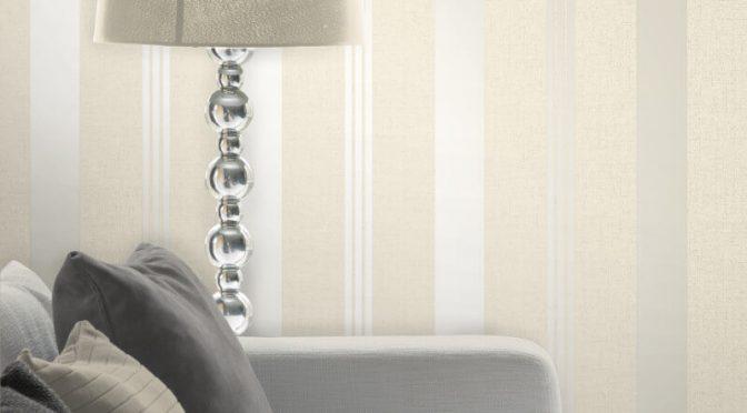 Fine Decor Quartz Stripe Gold Glitter Wallpaper