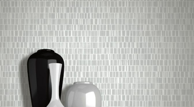 Muriva Urban Texture Silver Wallpaper