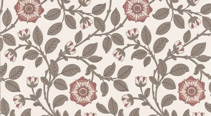 Little Greene Richmond Green Wallpaper in Stella