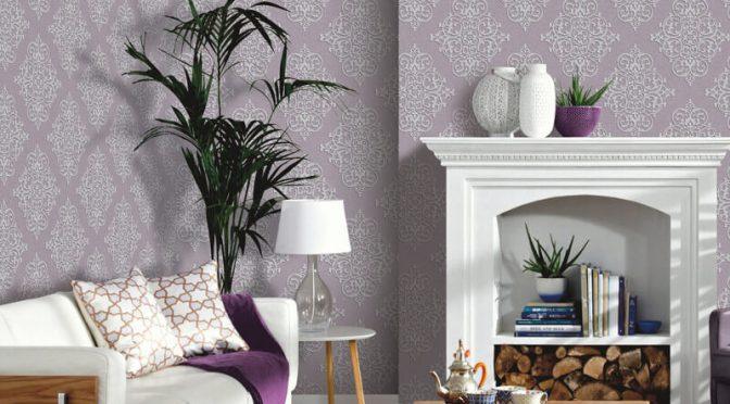 Arthouse Cardinale Glitter Wallpaper