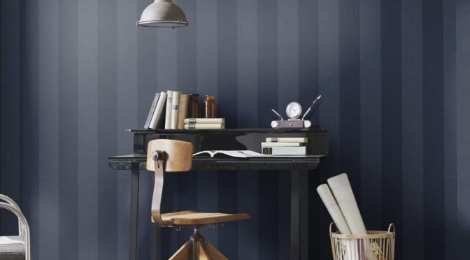 Erismann Cassiopeia Striped Wallpaper