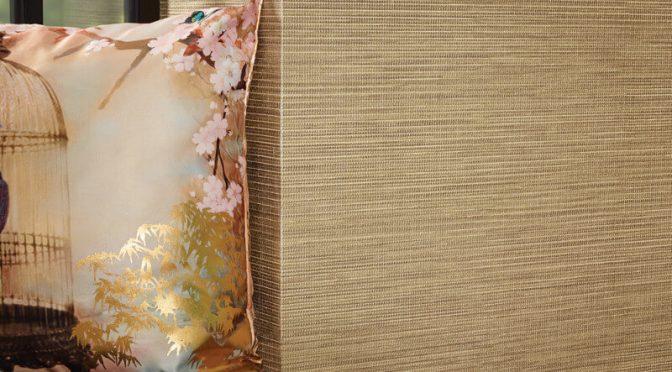 Arthouse Suki Plain Gold Wallpaper