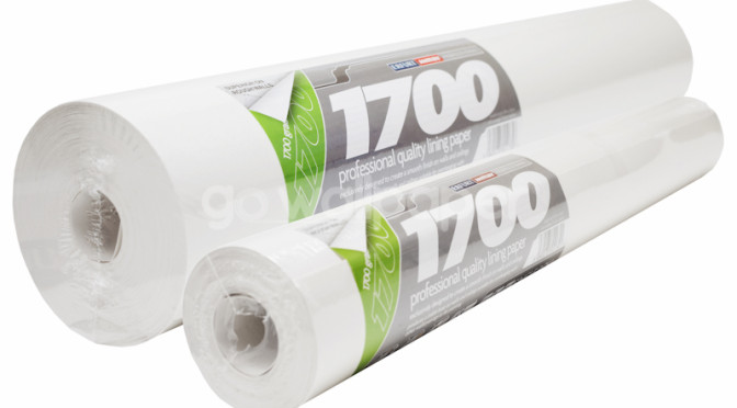 How do you know when to use 1700 grade lining paper?