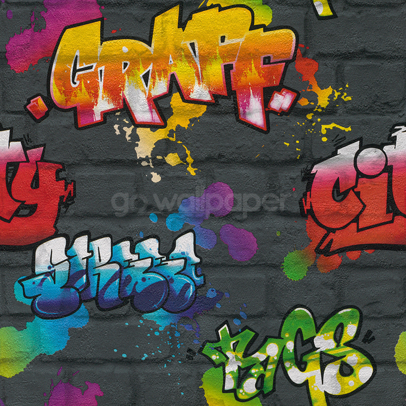 Rasch Wallpaper Achieve A Colourful Design