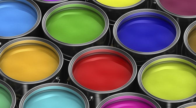 Get Earth Friendly with your paint