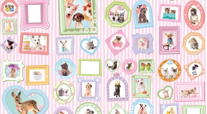 Walltastic Studio Pets Wallpaper Mural