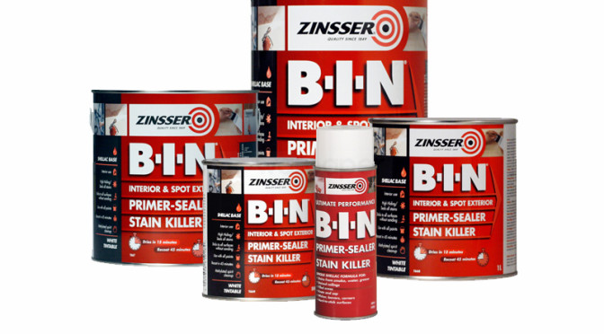 Zinsser BIN Stain Killer & Primer Sealer
