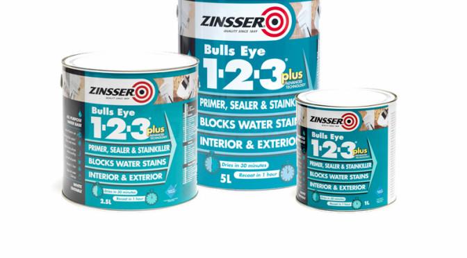 Zinsser BullsEye 1-2-3 Plus Stain Sealer