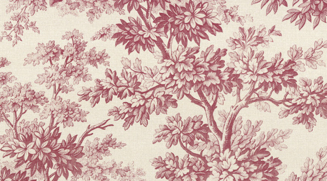 Little Greene Stag Toile Wallpaper