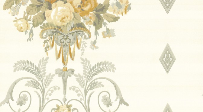 Little Greene Palais Wallpaper in Schottische