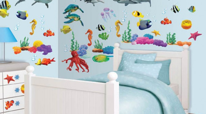 Walltastic Sea Adventure Room Decor Kit