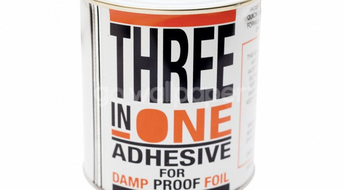 Anderton Three in One Damp Proof Foil Paper Adhesive