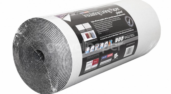 Saarpor Graphite Insulating Lining paper