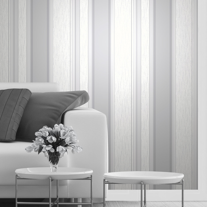 Vymura Synergy Glitter Stripe Wallpaper