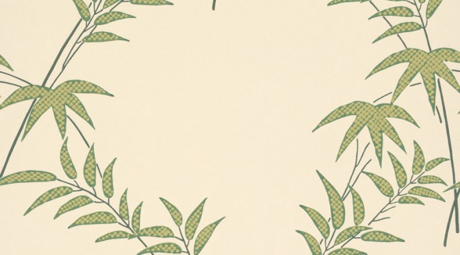 Little Greene Oriental Wallpaper – Trellis
