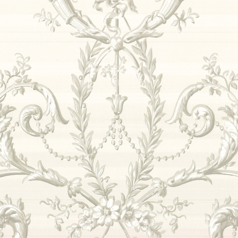 little greene versailles wallpaper argent. Black Bedroom Furniture Sets. Home Design Ideas