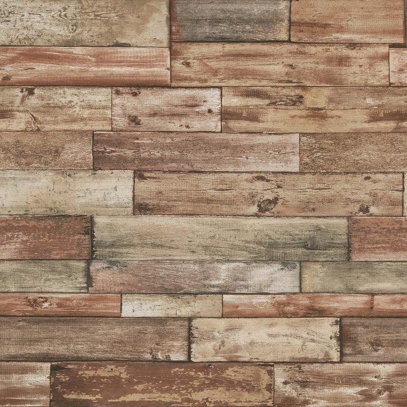 Erismann Authentic Wood Panel Wallpaper