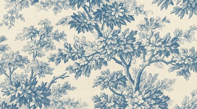 Little Greene Stag Toile Wallpaper – Juniper