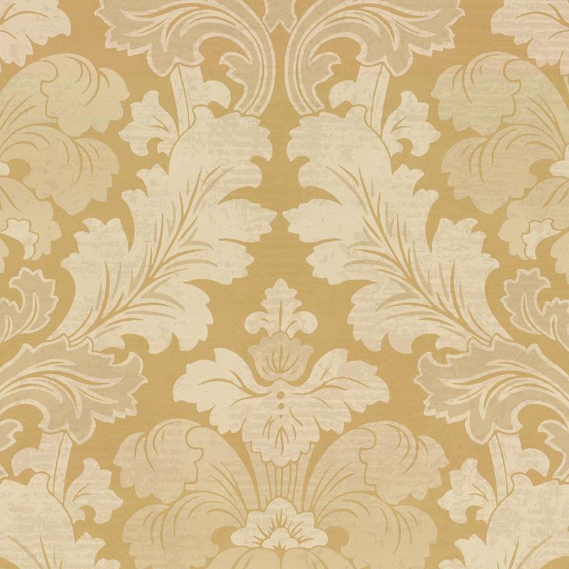 Little Greene Bonaparte Wallpaper Pure Gold