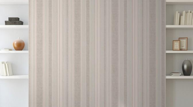 Muriva Alessandra Stripe Wallpaper – Bronze