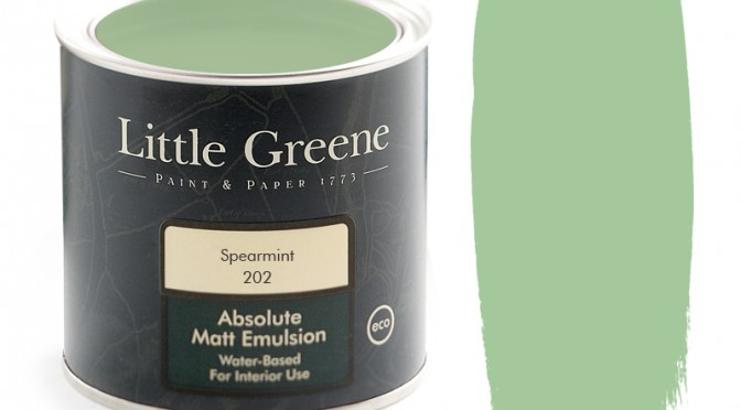 Little Greene Absolute Matt Emulsion – Spearmint