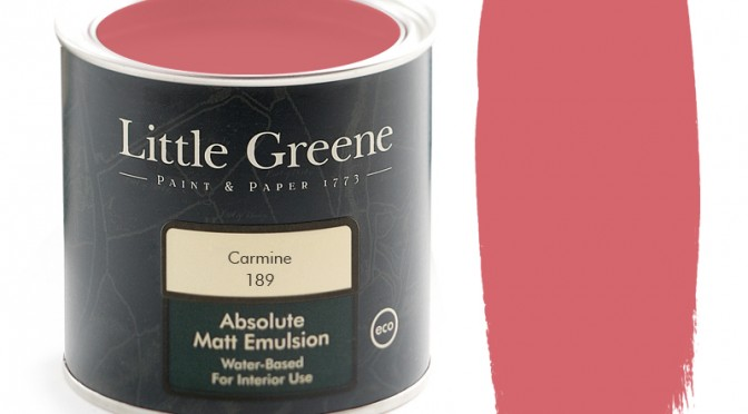 Little Greene Intelligent Matt Emulsion – Carmine