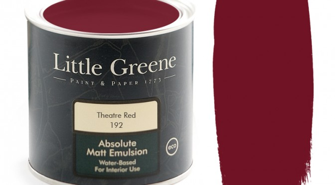Little Greene Intelligent Matt Emulsion – Theatre Red