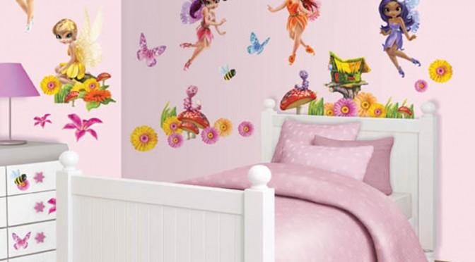 walltastic magical fairies room decor kit