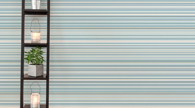 Coloroll Martez Stripe Wallpaper – Blue