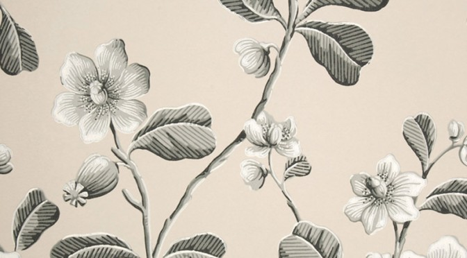 Little Greene Broadwick Street Wallpaper – Mono