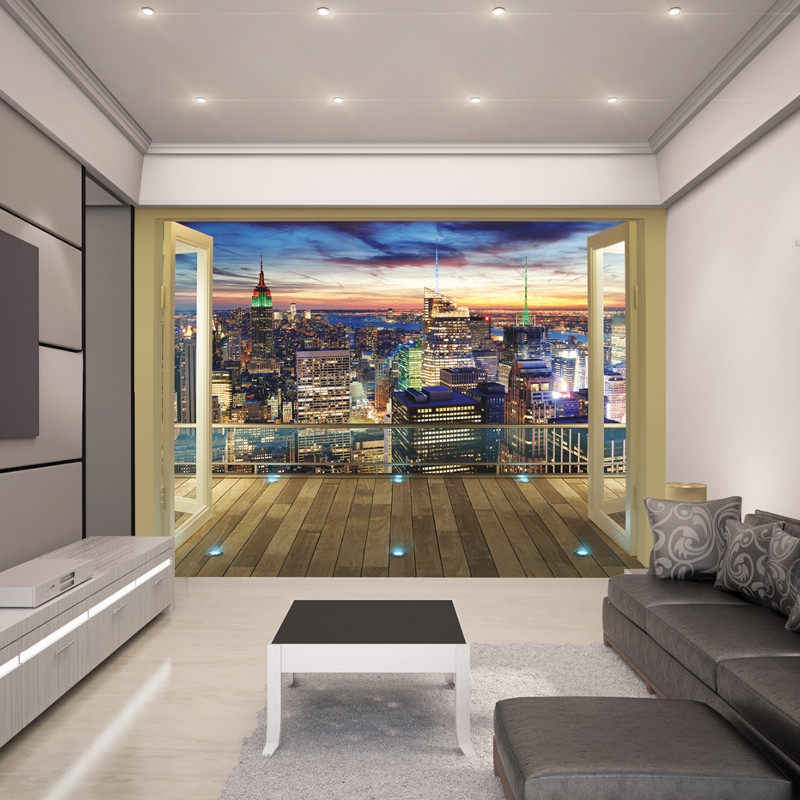 Walltastic New York City Skyline Wallpaper Mural
