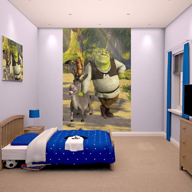 Walltastic shrek poster mural for Poster mural zen deco