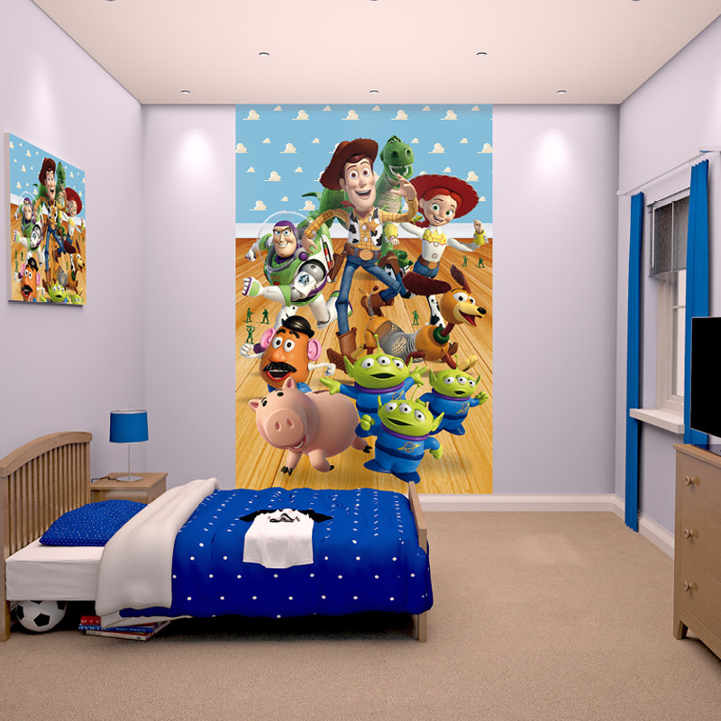 Child S Room: Walltastic Toy Story Poster Mural