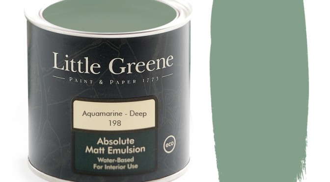 Little Greene Intelligent Matt Emulsion – Aquamarine Deep