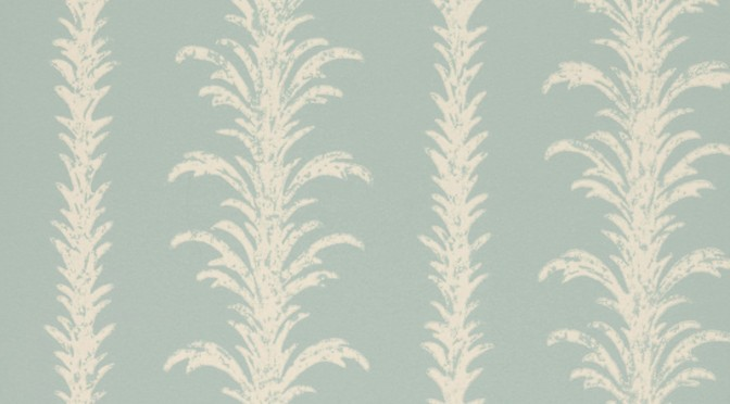 Little Greene Lauderdale Wallpaper – Villa