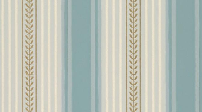 Little Greene Maddox Street Wallpaper – Blue Dusk