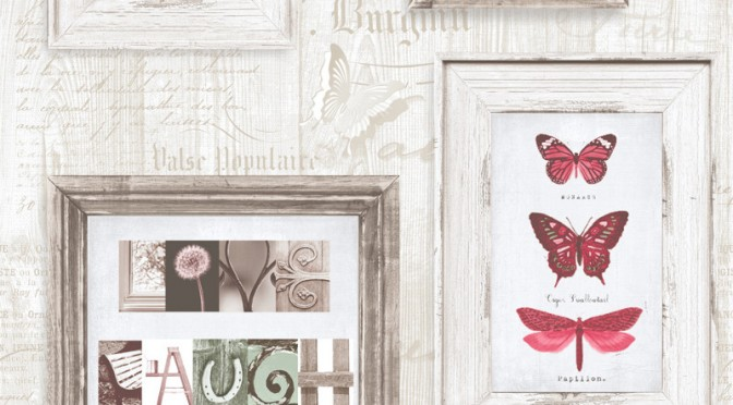 Muriva Live Laugh Love Wallpaper – Red