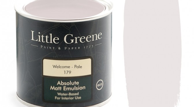 Little Greene Absolute Matt Emulsion – Welcome Pale