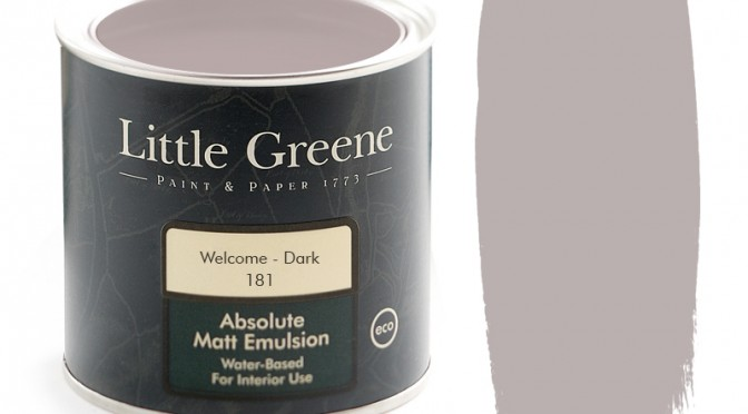 Little Greene Absolute Matt Emulsion – Welcome Dark