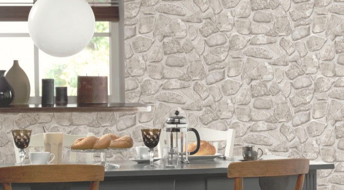 tile effect kitchen wallpaper p amp s international effect wallpaper 6134