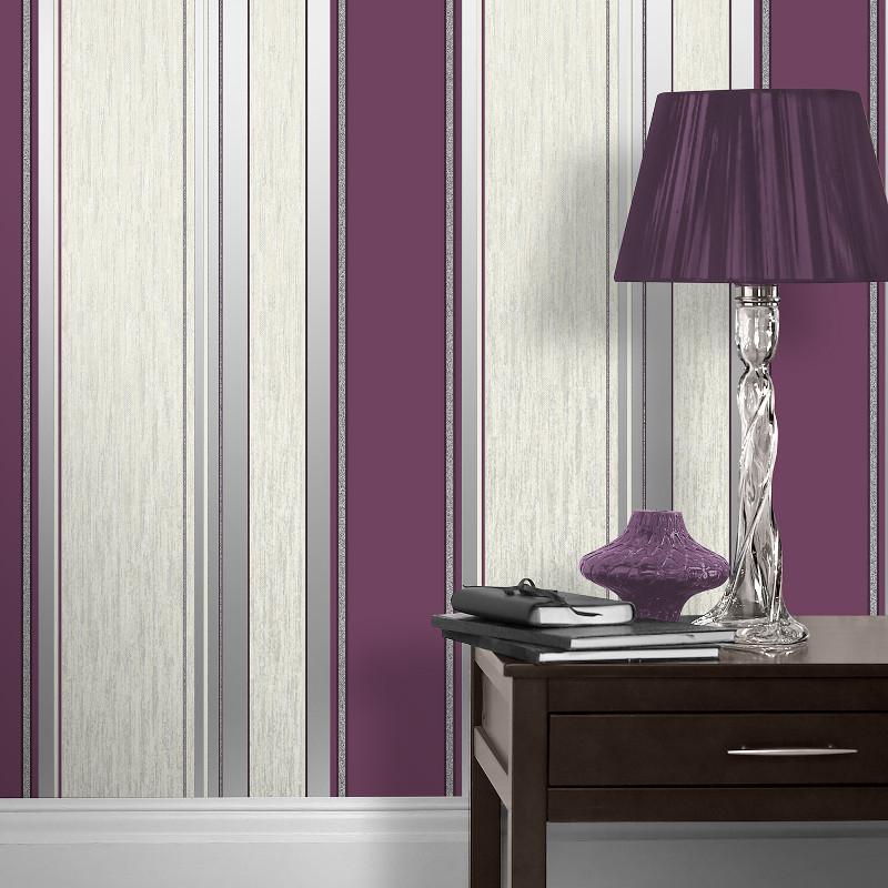 Silver Glitter Wallpaper Bedroom Navy Bedroom Color Schemes Childrens Bedroom Furniture Uk Kids Bedroom Art: Vymura Synergy Glitter Stripe Wallpaper