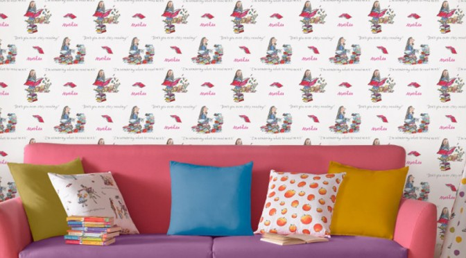 Muriva Roald Dahl Matilda Wallpaper – Multi-Coloured