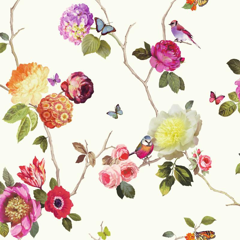 Arthouse Charmed Bird Wallpaper