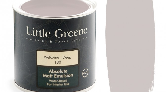 Little Greene Intelligent Matt Emulsion – Welcome Deep
