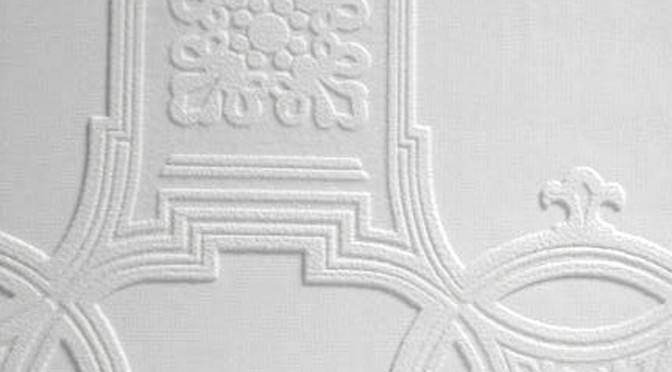 Anaglypta Luxury Textured Vinyl Wallpaper – Early Victorian