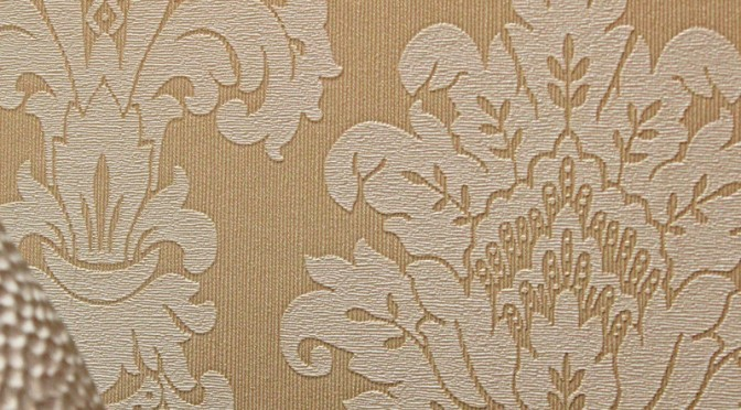 Arthouse Messina Damask Wallpaper – Gold